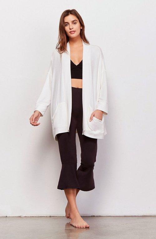 Halee Ivory Kimono Jacket