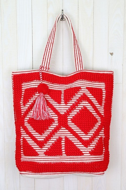 Double Diamond Picnic Tote Bag