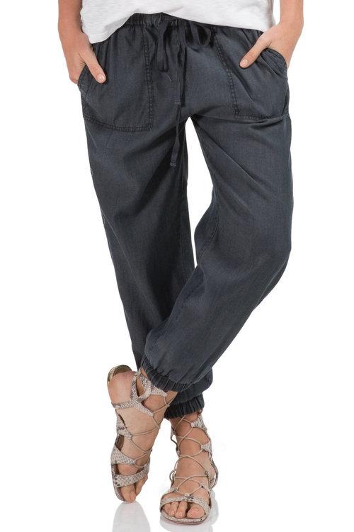 Tencel Jogger Pant w/ Tie