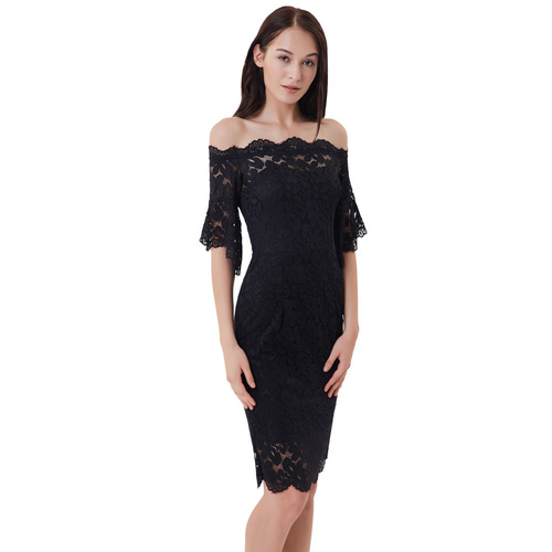 Ada Dress in Black
