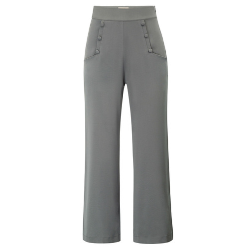 Key West High waist Pants (Black or Grey)