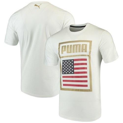 Puma 752649 Forever Football Cotton Tee USA