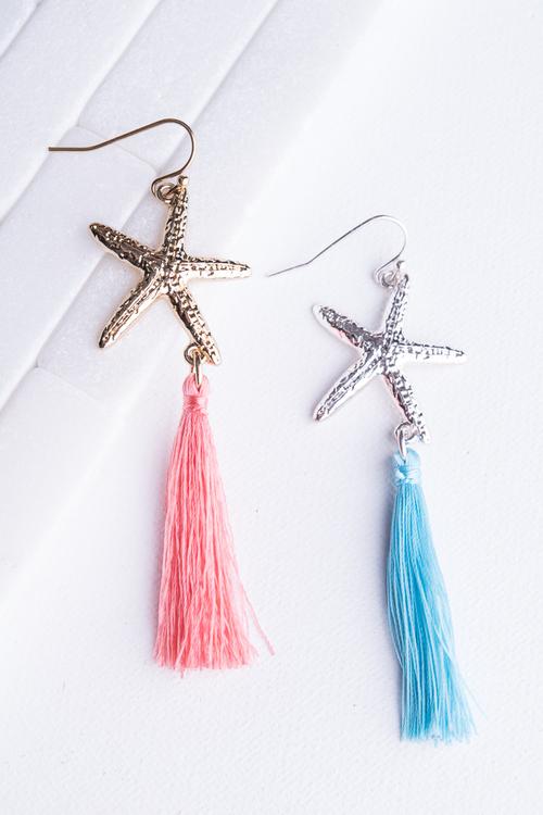 Starfish Tassel Dangle