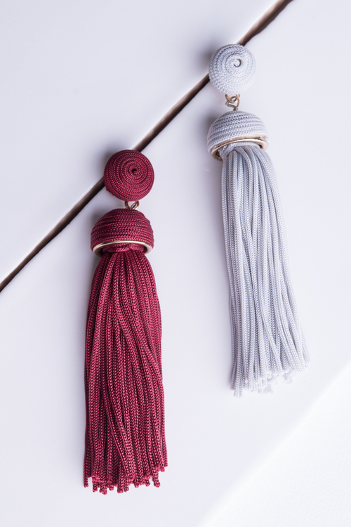 Glam Tassel Dangle