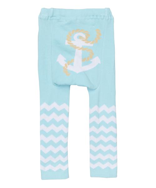 Blue Anchor Leggings
