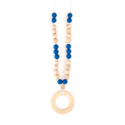 New Haven Navy Teething Necklace