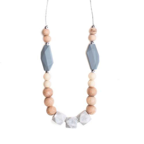 Boston Grey Teething Necklace
