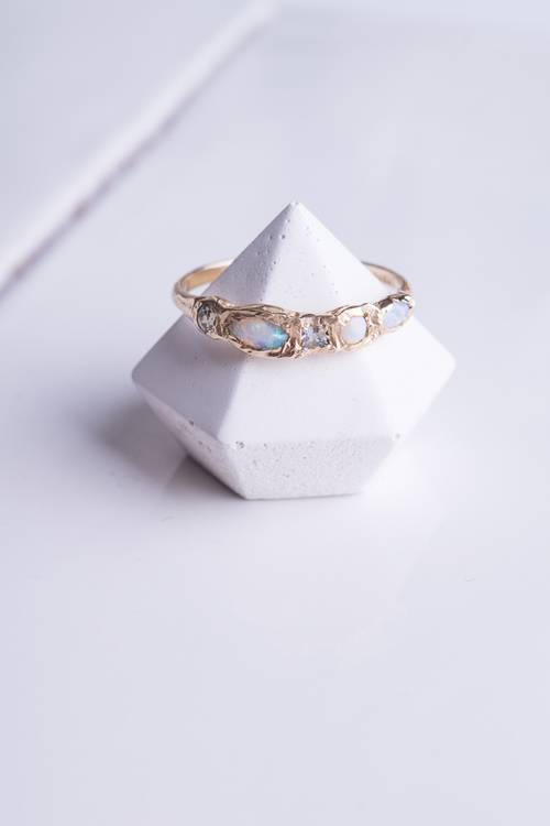 Journey Treasure Mermaid Ring