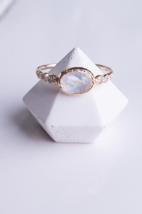 Freshwater Moonstone Ring
