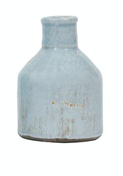 Medium Grey Terra Cotta Vase