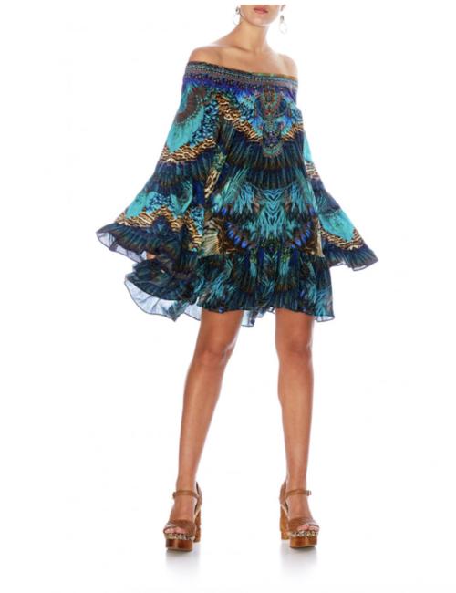 A Line Frill Dress