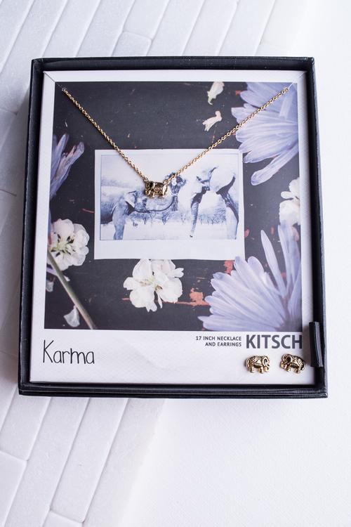Karma Necklace & Earring Set