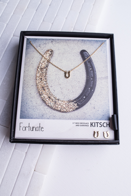Fortunate Necklace & Earring Set