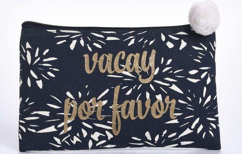 Vacay Por Favor Cosmetic Bag