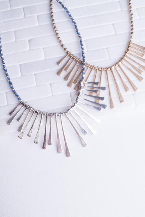 Beaded Burst Necklace