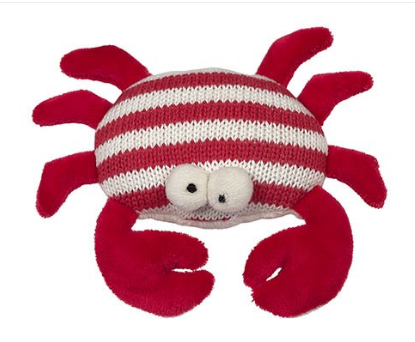 Crab Knit Rattle