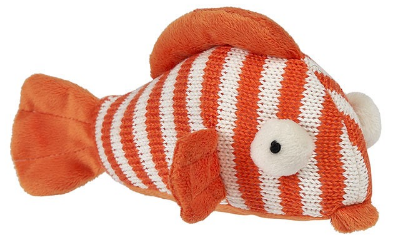 Fish Knit Rattle