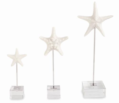 Resin Starfish Sitters