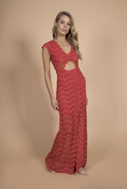 Mariposa Cutout Maxi Dress