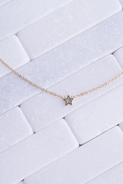 Star Turq. Necklace