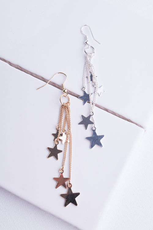 Stars Chain Dangle