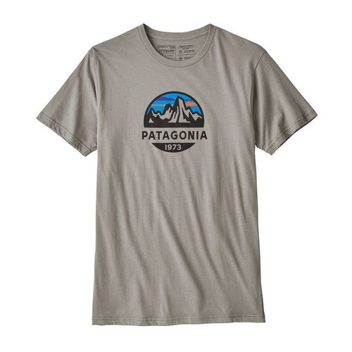 Patagonia M's Fitz Roy Scope Organic T-Shirt Feather Grey