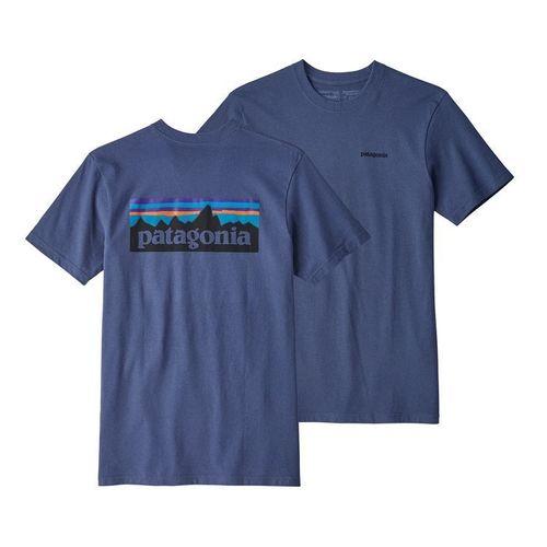 Patagonia M P-6 Logo Responsibili-Tee Dolomite Blue