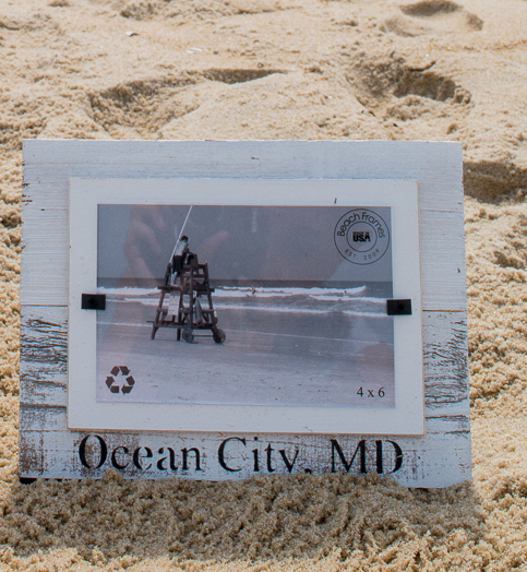 OCMD Reclaimed Wood Frame