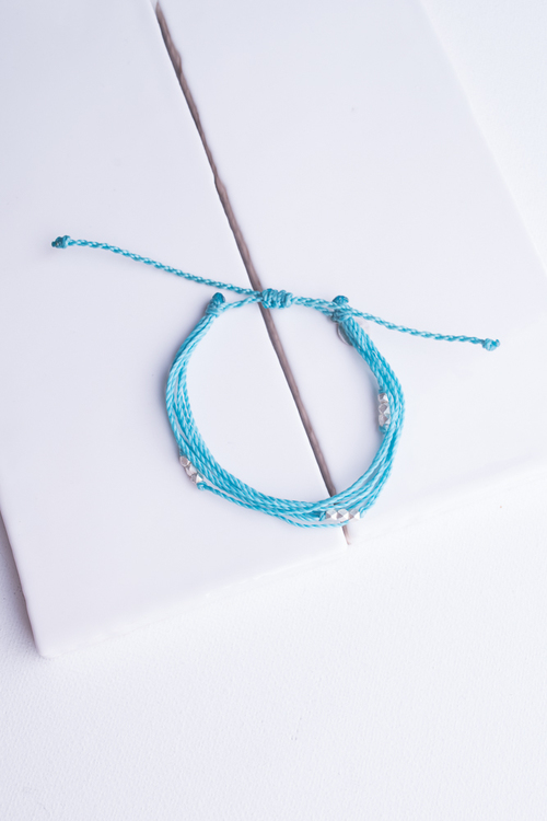Black Macua Silver Bracelet