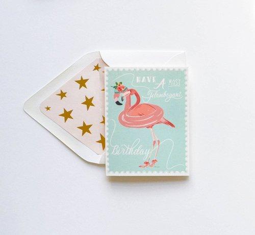 Flamboyant BDay Card