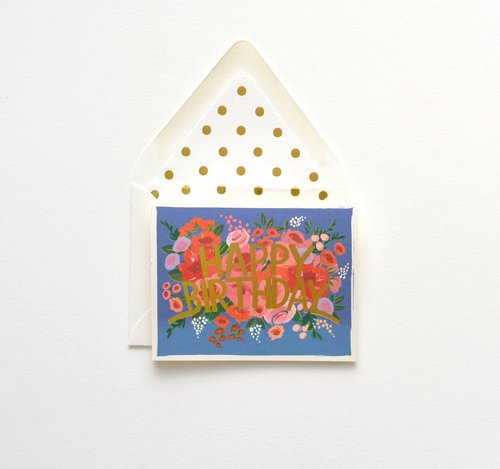 Greeting cards ish boutique ish boutique webstore shop in blue floral crown card m4hsunfo
