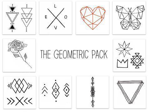 Geometric Tattoo Pack