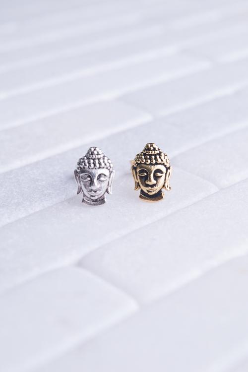 Buddha Head Stud