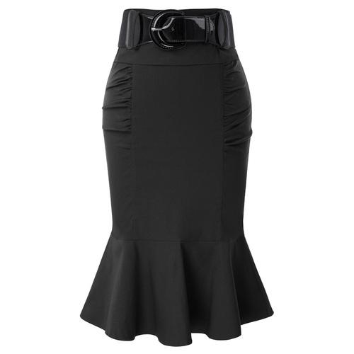 Eva Skirt in Grey or Black