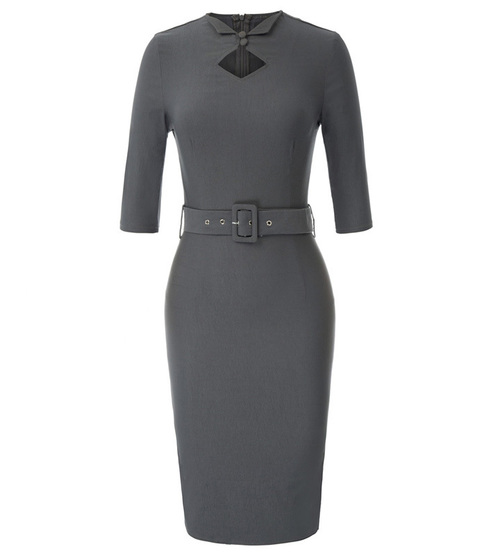 Sabrina Dress (Black or Grey)
