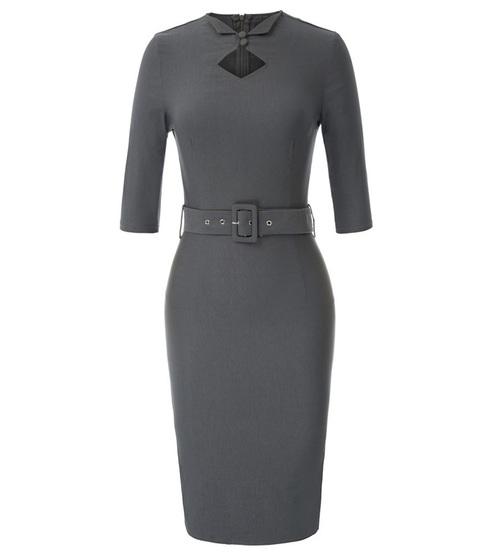 Sabrina Dress (Black or Grey)