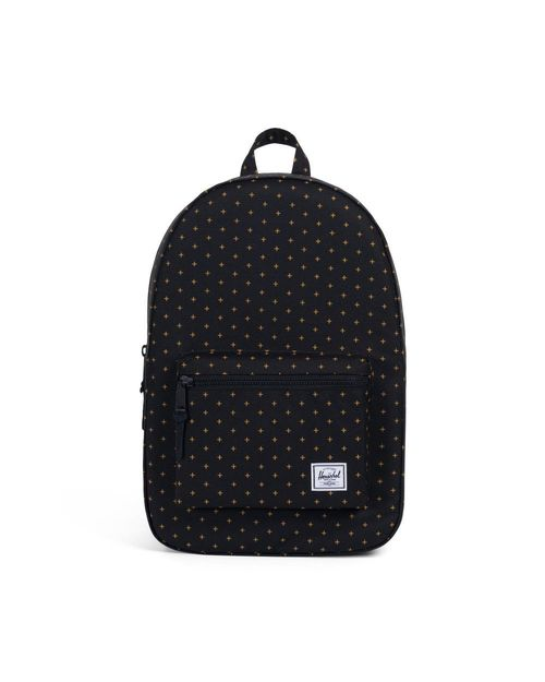 Herschel Settlement 600D Poly Black Grid G