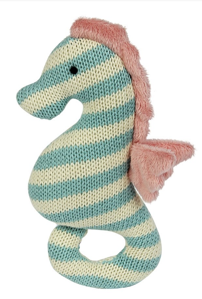 Seahorse Knit Rattle