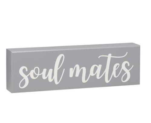 Soul Mates Box Sign