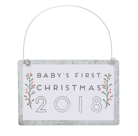 Baby's First 2018 Ornament