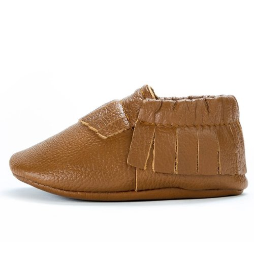 Classic Brown Genuine Leather Moccasin