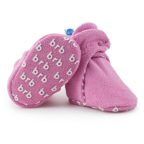 Cotton Candy Fleece Baby Bootie