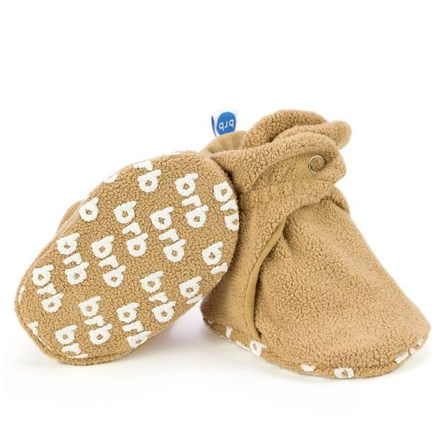 Teddy Bear Fleece Baby Bootie