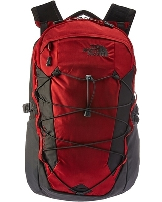 The North Face Borealis Rage Red Ripstop/Asphalt Grey