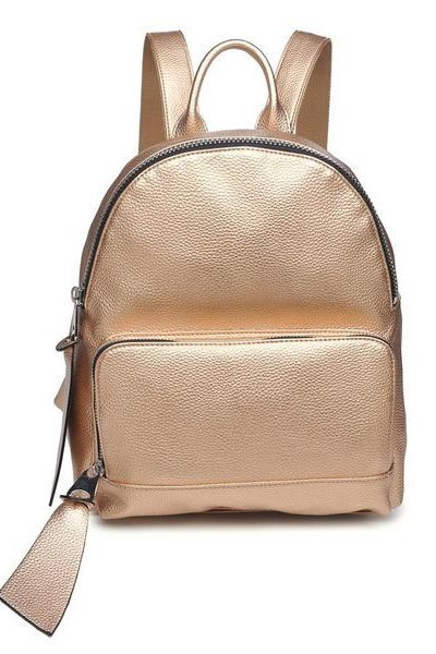 Nomad Metallic Backpack Light Gold