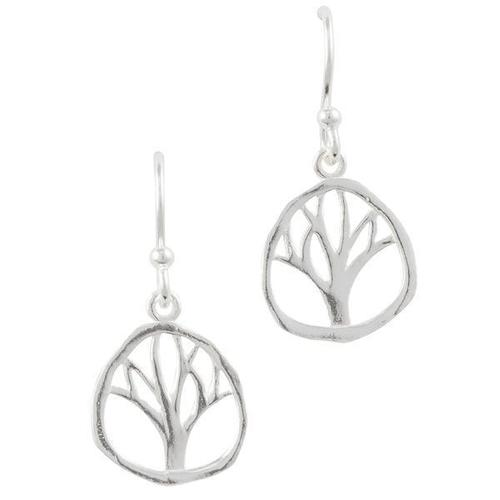 Hammered Tree Dangle