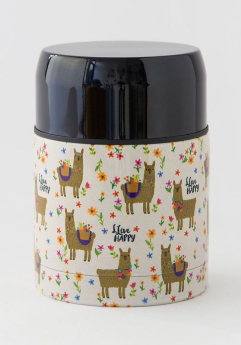Live Happy Soup Thermos