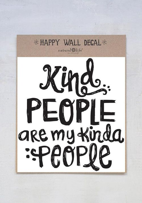 Kind People Wall Decal