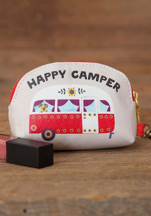 Happy Camper Dog Mini Pouch