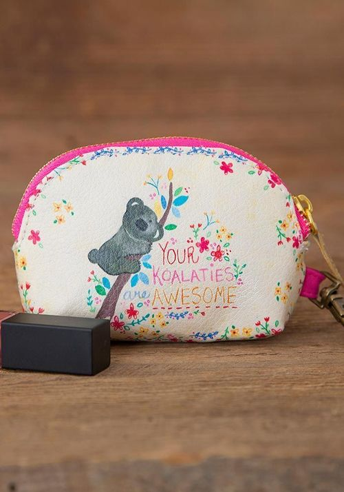 Koalities are Awesome Mini Pouch